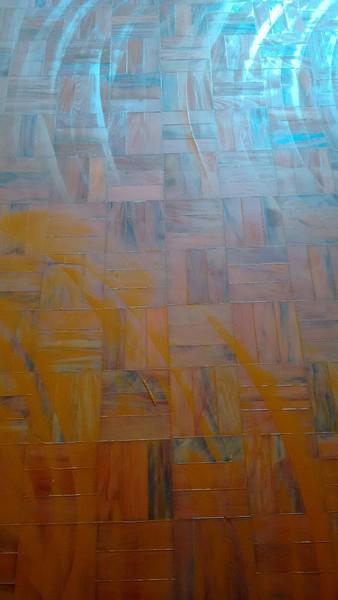 Raspagem em piso de taco de madeira sem pó