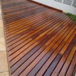 Recuperação de piso de madeira